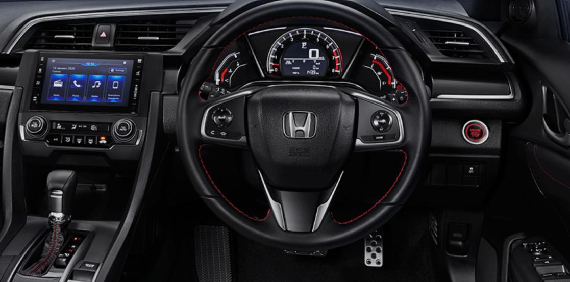 Interior Honda Hatcback