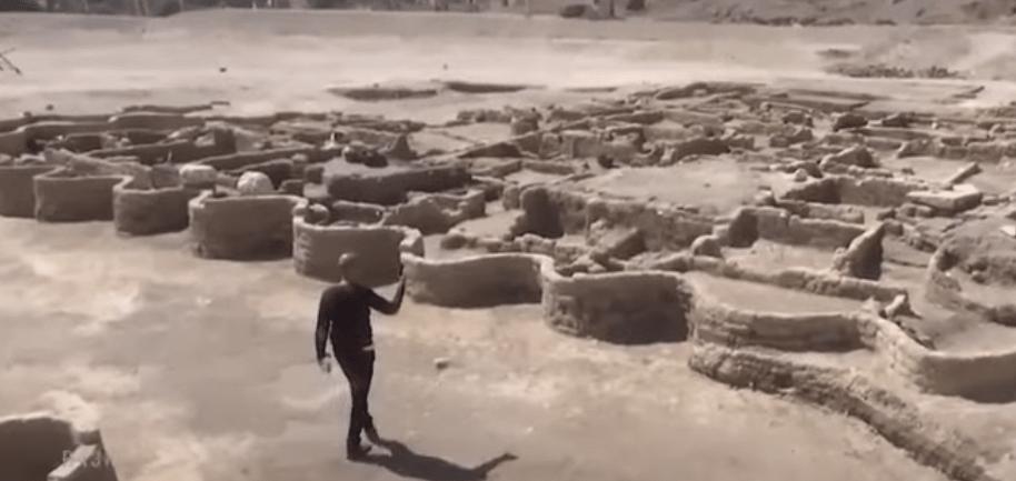 Kota Emas 3000 tahun lalu di Mesir-min