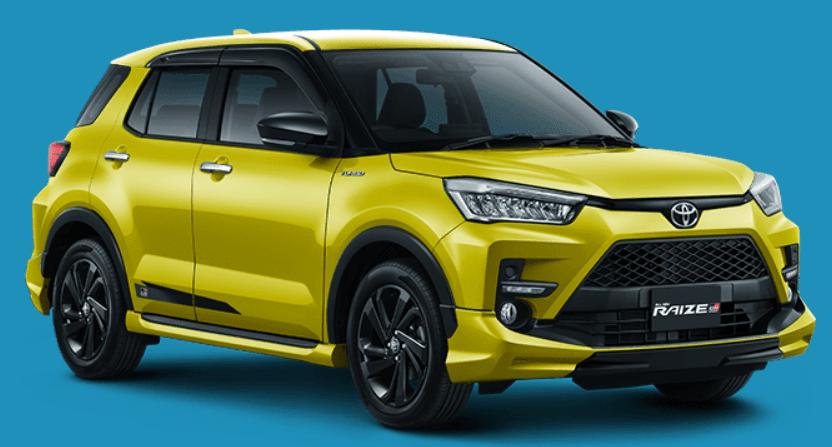 Toyota Raize Kuning